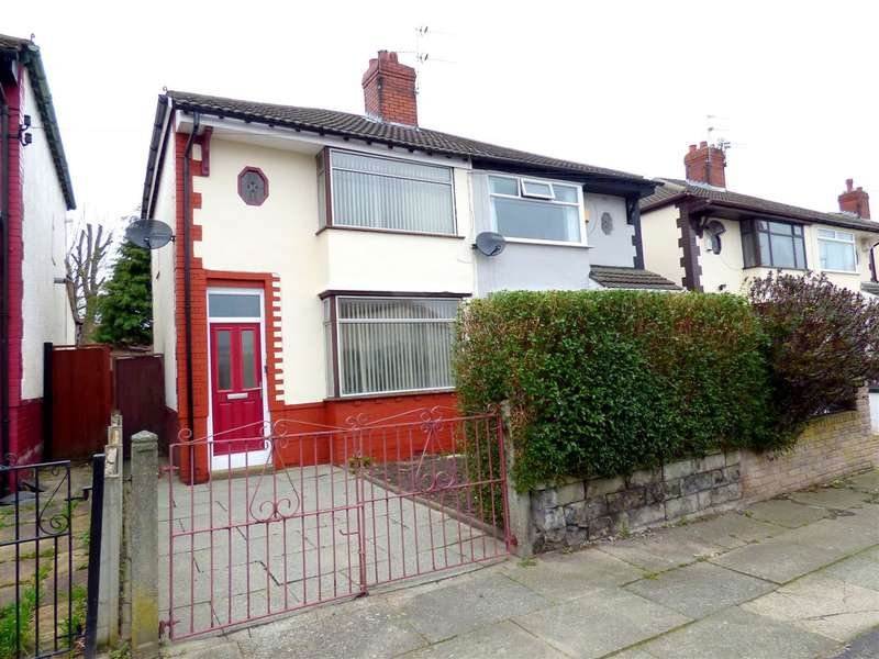 3 Bedrooms Semi Detached House for sale in Gordon Drive, Broadgreen, Liverpool