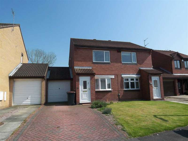 2 Bedrooms Semi Detached House for sale in Priors Grange, High Pittington