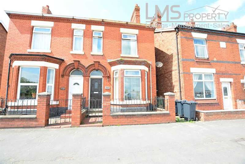 3 Bedrooms Semi Detached House for sale in High Street, Winsford