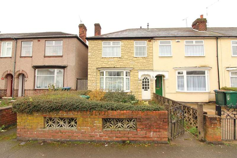 3 Bedrooms End Of Terrace House for sale in Courtland Ave, Coundon, Coventry