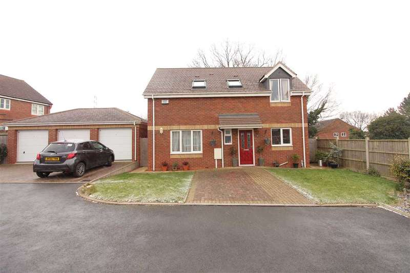 3 Bedrooms Detached House for sale in Calgary Close, Coombe Fields, Coventry