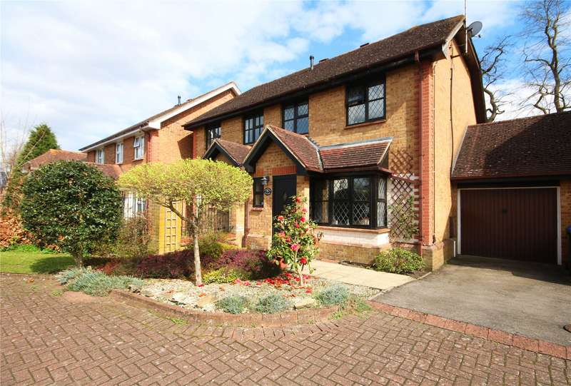2 Bedrooms Semi Detached House for sale in Warwick Deeping, Ottershaw, Chertsey, Surrey, KT16