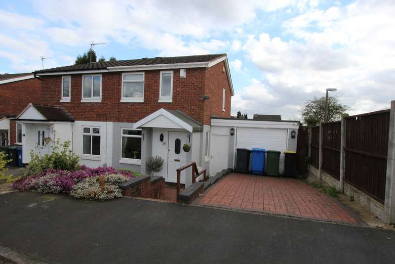 2 Bedrooms Semi Detached House for sale in Bream, Dosthill B77