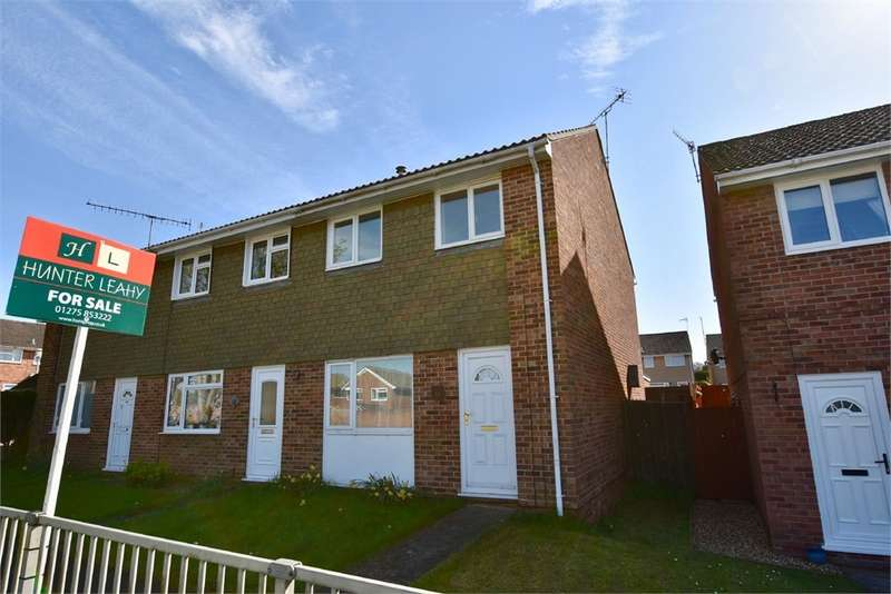 3 Bedrooms End Of Terrace House for sale in 11 Biddisham Close, Nailsea, Bristol, North Somerset