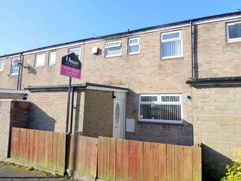 3 Bedrooms Terraced House for sale in Littleham Close, Hull, HU7