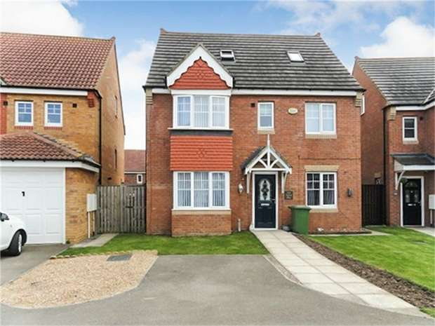 5 Bedrooms Detached House for sale in Apsley Way, Ingleby Barwick, Stockton-on-Tees, North Yorkshire
