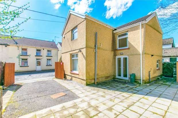 3 Bedrooms Detached House for sale in Jenkins Street, Hopkinstown, Pontypridd, Mid Glamorgan