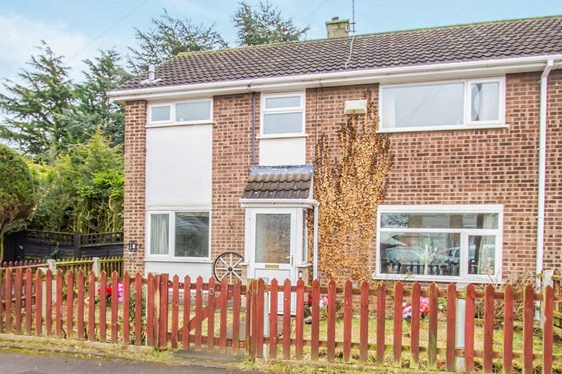 3 Bedrooms Semi Detached House for sale in Cranmer Close, Blaby, LEICESTER, LE8