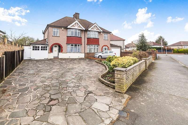 3 Bedrooms Semi Detached House for sale in Heversham Road, Bexleyheath, DA7