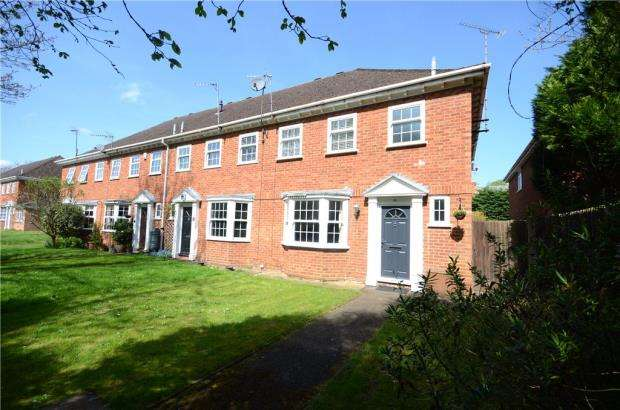 3 Bedrooms End Of Terrace House for sale in Lady Jane Court, Caversham, Reading