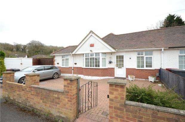 4 Bedrooms Semi Detached Bungalow for sale in Shirley Avenue, Reading, Berkshire