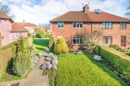 3 Bedrooms Semi Detached House for sale in Stockwell Avenue, Knaresborough, North Yorkshire