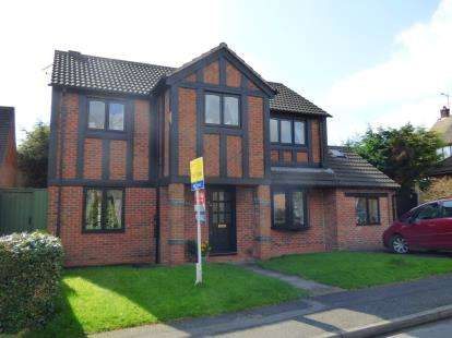 4 Bedrooms Detached House for sale in Willson Avenue, Littleover, Derby, Derbyshire