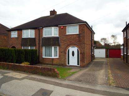 3 Bedrooms Semi Detached House for sale in Copeland Road, Kirkby In Ashfield, Nottingham, Nottinghamshire