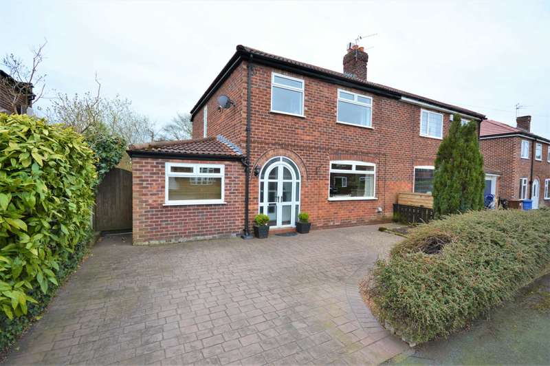 3 Bedrooms Semi Detached House for sale in Aldwyn Crescent, Stockport