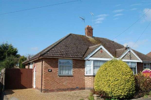 2 Bedrooms Semi Detached Bungalow for sale in Muscott Lane, Duston Village, Northampton NN5 6HH