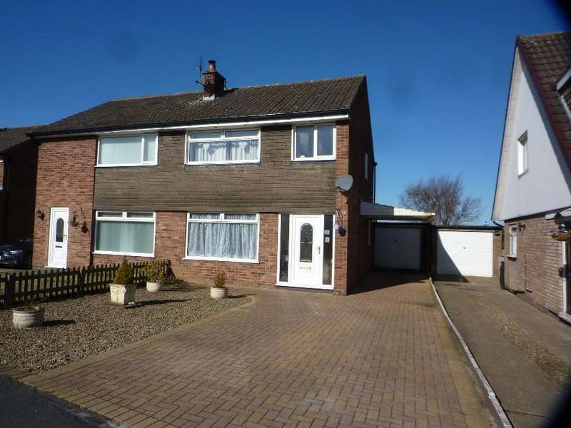3 Bedrooms Semi Detached House for sale in St. Cuthbert Drive, Northallerton