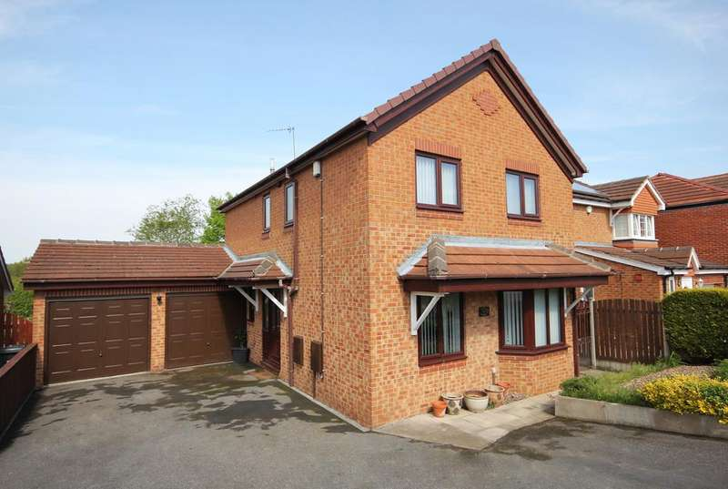 4 Bedrooms Detached House for sale in Kirkstead Gardens, Woodhouse Mill