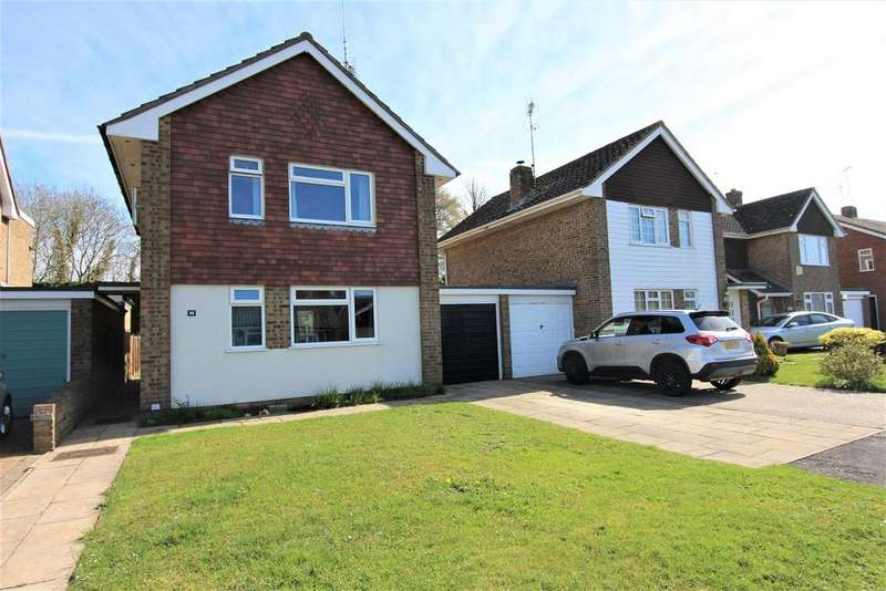3 Bedrooms Detached House for sale in Marlborough Drive, Burgess Hill