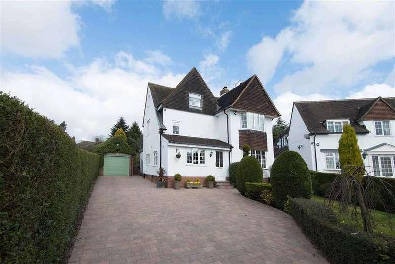 4 Bedrooms Detached House for sale in Ashleigh, 7, Park Avenue, Dronfield, Derbyshire, S18
