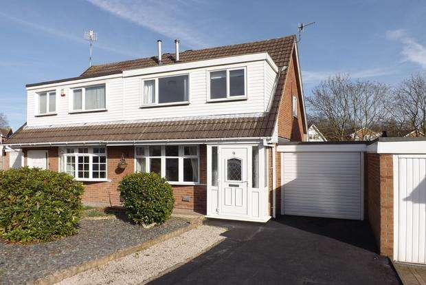 3 Bedrooms Semi Detached House for sale in Bowlwell Avenue, Nottingham, NG5