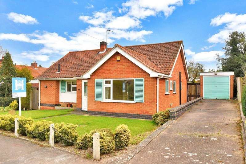 2 Bedrooms Detached Bungalow for sale in Haycroft Way, East Bridgford, Nottingham