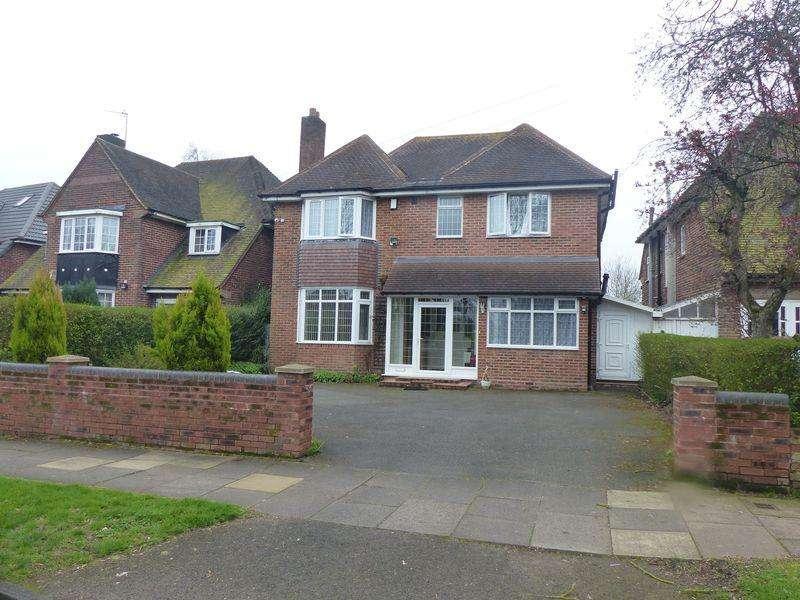 4 Bedrooms Detached House for sale in Vernon Avenue, Handsworth Wood, Birmingham