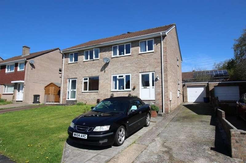 3 Bedrooms Semi Detached House for sale in Julian Road, Ivybridge