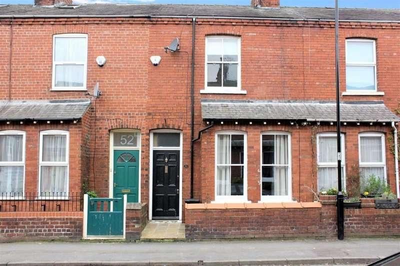 2 Bedrooms Terraced House for sale in 50 Albemarle Road York YO23 1ER