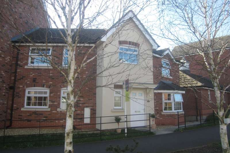 3 Bedrooms Semi Detached House for sale in Abbey Park Way, Weston, Crewe, CW2