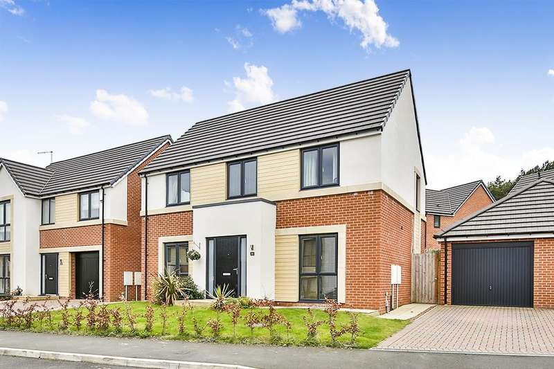 4 Bedrooms Detached House for sale in Woodburn Grove, Langley Moor, Durham, DH7