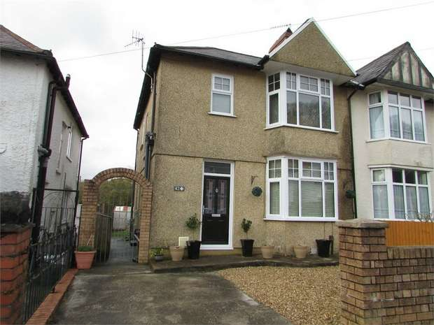 3 Bedrooms Semi Detached House for sale in Beechwood Avenue, Neath, West Glamorgan