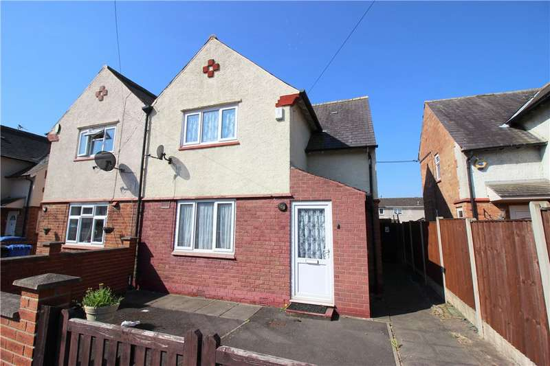 3 Bedrooms Semi Detached House for sale in Beaufort Street, Chaddesden, Derby, Derbyshire, DE21