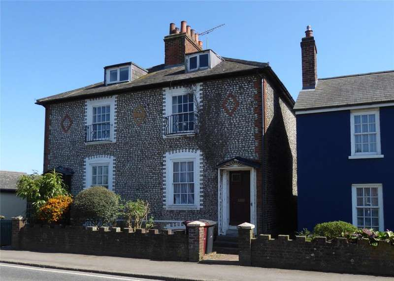 5 Bedrooms Semi Detached House for sale in Westhampnett Road, Chichester, West Sussex, PO19
