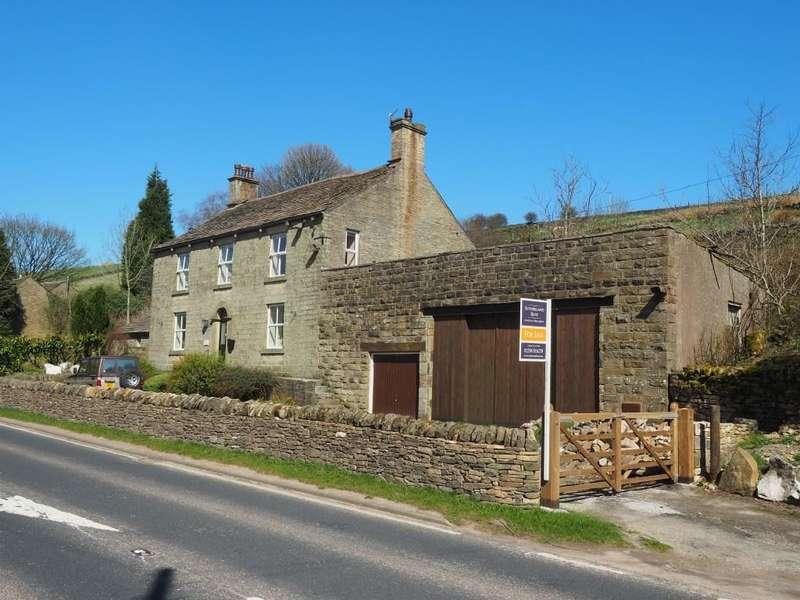 4 Bedrooms Detached House for sale in Hayfield Road, Chinley, High Peak, Derbyshire, SK23 6AL