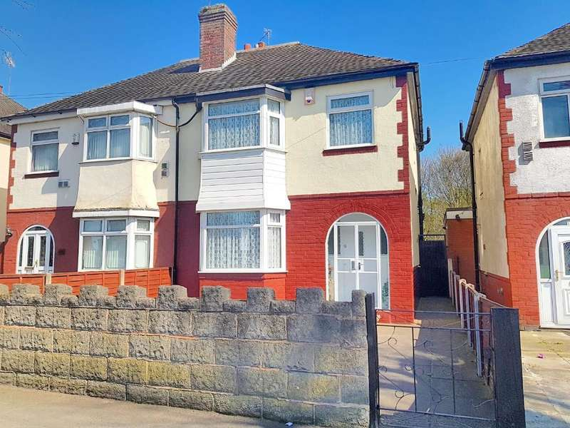 3 Bedrooms Semi Detached House for sale in TRINITY ROAD SOUTH, WEST BROMWICH, WEST MIDLANDS, B70 6NF