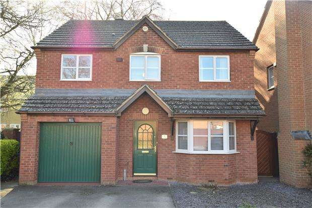 4 Bedrooms Detached House for sale in David Nicholls Close, Littlemore, Oxford, OX4 4QX