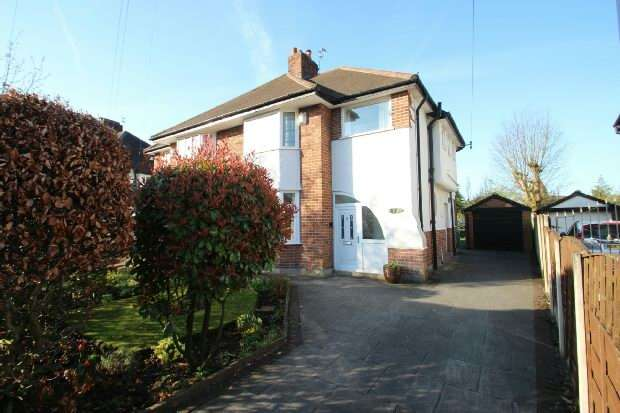3 Bedrooms Semi Detached House for sale in Swaylands Drive, Sale