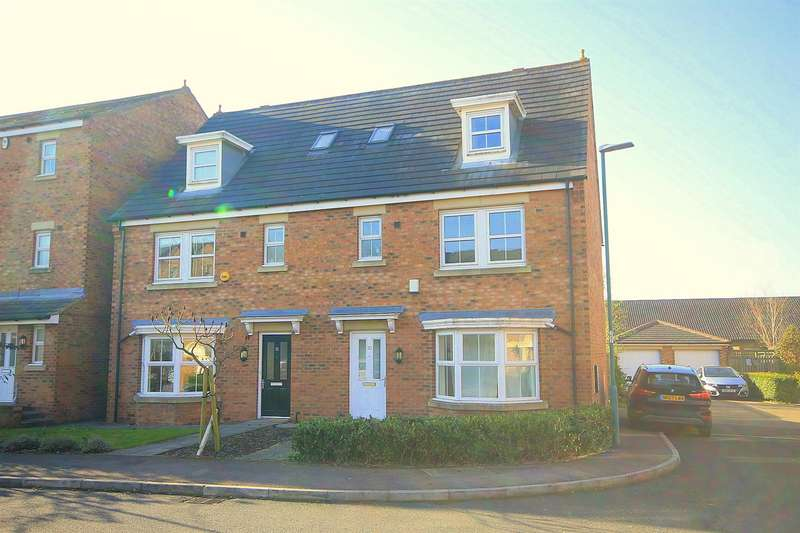 4 Bedrooms Semi Detached House for sale in Herons Court, Gilesgate, Durham