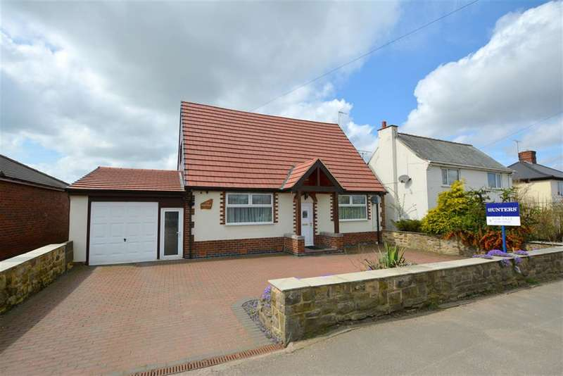 3 Bedrooms Detached Bungalow for sale in North Wingfield Road, Grassmoor, Chesterfield, S42