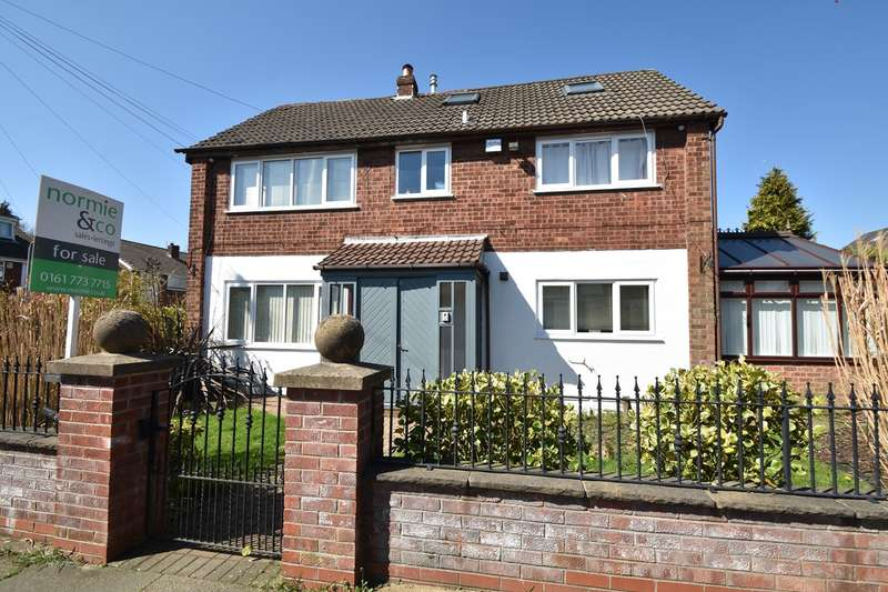 4 Bedrooms Link Detached House for sale in Sandown Road, Sunny Bank, Bury, BL9