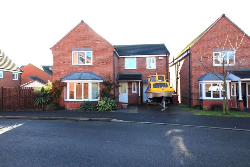 4 Bedrooms Detached House for sale in Chapel Close, Blackwell, Alfreton, DE55