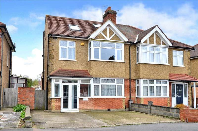 4 Bedrooms Semi Detached House for sale in Abbotts Road, Cheam, Sutton, SM3