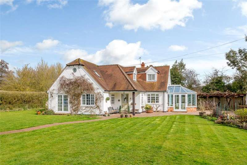 4 Bedrooms Detached House for sale in Mill Green, Headley, Thatcham, Berkshire