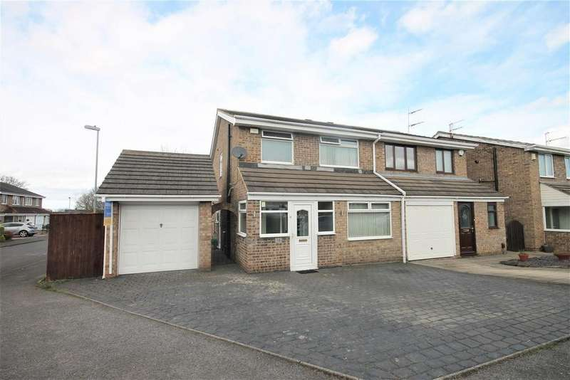 3 Bedrooms Semi Detached House for sale in Kingcraft Road, Marton-In-Cleveland, Middlesbrough