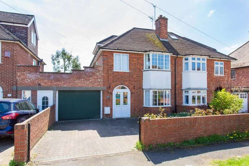 4 Bedrooms Semi Detached House for sale in Abbott Road, Abingdon