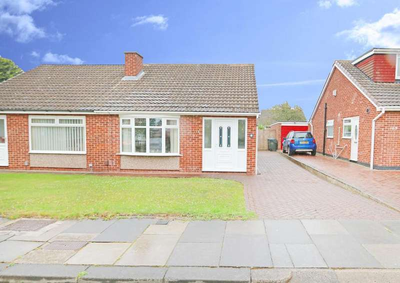 2 Bedrooms Semi Detached Bungalow for sale in Hesleden Avenue, Acklam TS5