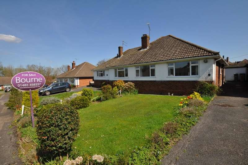 2 Bedrooms Semi Detached Bungalow for sale in Orchard Close, Normandy