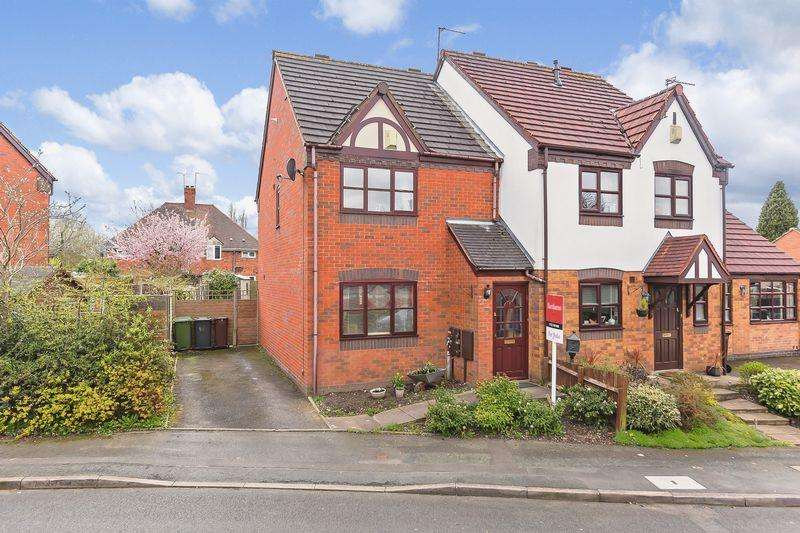 2 Bedrooms Semi Detached House for sale in BRADMORE, Lutley Close