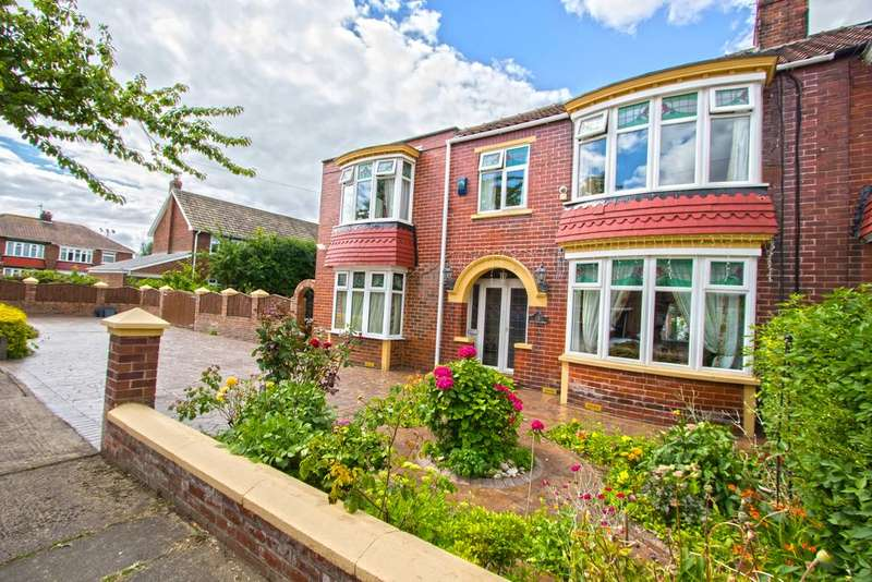 5 Bedrooms Semi Detached House for sale in Adcott Road, Acklam TS5